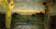 Galileo Chini - L'Annunciazione (ca. 1906)