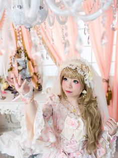 ✨  hime さん ✨ https://aliceholic.com/posts/8954  View more 『 Angelic pretty』✨ https://aliceholic.com/tags/angelic-pretty  The image is posted with approval of the author