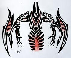 Tribal Eternum Nocturne by Esmeekramer on DeviantArt