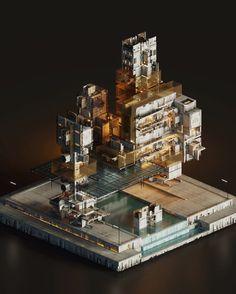 The Grand Sector  #magicavoxel #voxelart #isometric #conceptart #gamedesign #3dartpic.twitter.com/MdDg5IrYIq