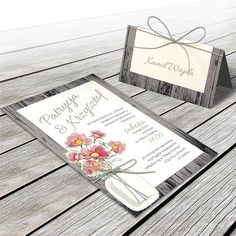 Wedding invitation   F1342