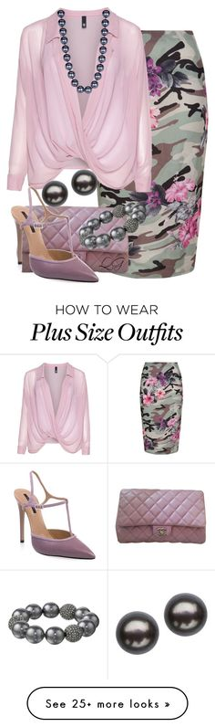 """~~ PENCIL SKIRT ~~"" by queenofthegypsies on Polyvore featuring New Look, Manon…"
