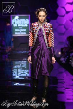 Payal Pratap Wills Lifestyle India Fashion Week 2013 - Cocktail Wear - Bigindianwedding Indian Look, Indian Ethnic Wear, Indian Style, India Fashion Week, Fashion Show, Fashion Weeks, Young Designers, Indian Designers, Wills Lifestyle