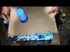 El arte en la pintura..POURING+ACEITE-LUBR.+BARNIZ - YouTube Acrylic Painting Techniques, Liquitex, Fluid Acrylics, Acrylic Pouring, Art Tutorials, Plastic Cutting Board, Youtube, Ideas Para, Color Combinations