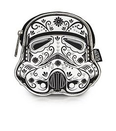 Loungefly x Star Wars Stormtrooper Floral Coin Bag