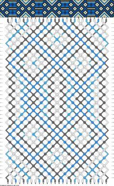 26 strings 40 rows 4 colors