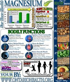 Magnesium Infographi   Mein Blog
