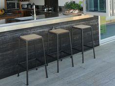 Eco Outdoor Turon bar stool. Outdoor furniture | Patio furniture | Outdoor dining | Teak outdoor | Outdoor design | Outdoor style | Outdoor luxury | Designer outdoor furniture | Outdoor design inspiration | Pool side furniture | Outdoor ideas | Luxury homes