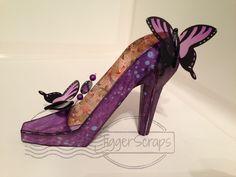 SVG Cuts, shoe give away #svgcuts www.fstampaholic.blogspot.com