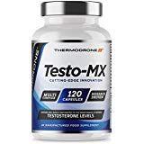 Extreme Testosterone Support for Men - Testo-MX 120 Capsules - UK Made Premium Testosterone Support - Zinc Booster - Tribulus, Maca, D Aspartic Acid - Multi-Complex Formula Designed for Men Natural Testosterone, Testosterone Booster, Testo Booster, Men, Guys