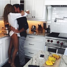 A Kitchen Romance Story Of Love On Wednesday Music By Lana Del Ray Music & Pictures Photo Couple, Love Couple, Couple Goals, Perfect Couple Pictures, Classy Couple, Romantic Pictures, Couple Stuff, Couple Things, Couple Pics