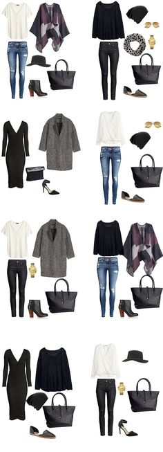 what type of packing list I would need for a trip like that and I decided that I would try out a 5 Days in New York City list. Five days is a common vacation time period so I wanted to show how you could pack light for five days with bringing minimal clothes.