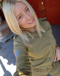The Stunningly Beautiful Women Of The IDF Israeli Girls, Idf Women, Stunningly Beautiful, Beautiful Images, Brave Women, Female Soldier, Military Women, Strong Hair, Badass Women