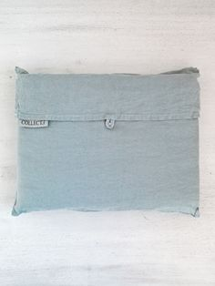 Dove S/W Linen Pillowcase Pair