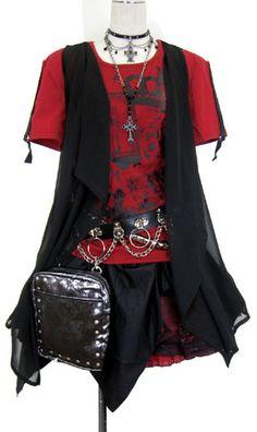Putumayo red and black coordinate.