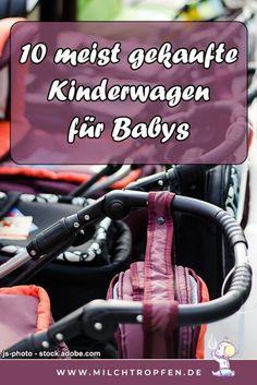 Die 10 meist gekauften Kinderwagen für Babys zum kaufen. Die Kinderwagen Bestseller-Liste ist eine gute Hilfe für die eigene Kaufentscheidung. Finde jetzt den besten Kinderwagen für dein Baby | Mehr Infos auf www.milchtropfen.de