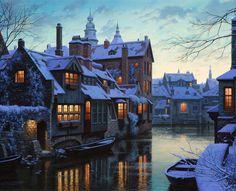 Bruges, Belgium.  So charming.