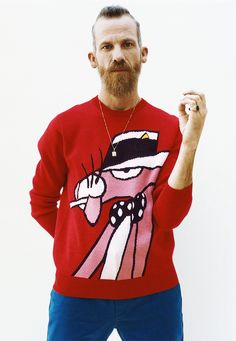 Supreme x Pink Panther Sweater bought @ DOVER STREET MARKET NEW YORK
