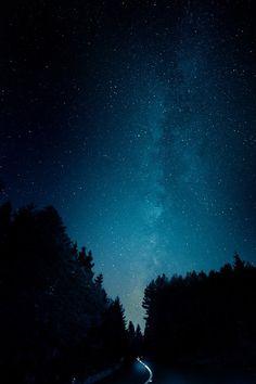 The Milky Way Path by Nuno Serrão