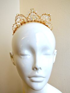 Classic Professional Ballet Tiara Swarovski Crystal by EnCroixTiara on Etsy https://www.etsy.com/listing/176276531/classic-professional-ballet-tiara