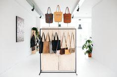 Contact | Janette van Tol Leather Bags Handmade, Wardrobe Rack, Bag Accessories, Van, Home Decor, Decoration Home, Room Decor, Vans, Interior Decorating