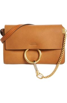 a29a0c5622 Chloé Small Faye Goatskin Leather Crossbody Bag