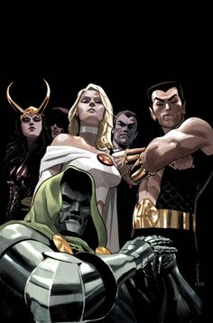 Dark Reign: The Cabal by Daniel Acuna