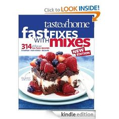 FREE COOKBOOK!!  taste of home fast fixes and mixes 3/16/11