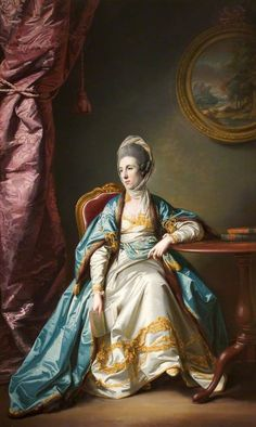 Catherine Fleming (d.1786), Lady Leicester by Francis Cotes (Tabley House - Knutsford, Cheshire UK) | Grand Ladies | gogm