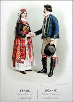 Folkwear of Scandinavia Swedish Fashion, Stockholm, Harem Pants, The Unit, Costumes, Traditional, Unit Studies, Painting, Ebay