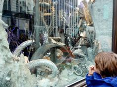 Forrestall Family's Life in Art: The art of the New York City holiday windows