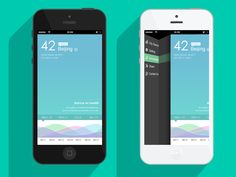 Air Quality & Monitoring Mobile App User Interface Design