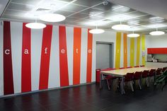 vinyl wall graphics cafeteria - Google Search