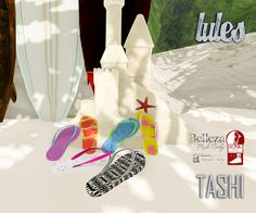TASHI Lules | SWANK is starting today a new round! and it's called on the beach!  So get ready to stop by and get everything you need to go to the beach during this amazing summer time!  Also it's the anniversary round so all our items will be with a special price from July 7th until July 16th so do not miss it!  ♥ Shinya