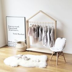 cute little clothes rack