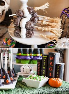 Monster's Ball Halloween Party {Bats, Witches & More!}