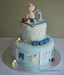 1st boy birthday cakes - Google Search
