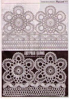Patterns and motifs: Crocheted motif no. 299