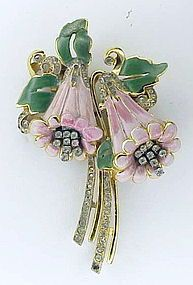 Coro pink bell flower duette  (Campanules)