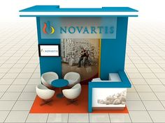 Novartis Glavus Campaign 2in1 Variable Exhibition Stand on Behance