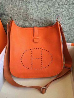 hermes Evelyne medium orange