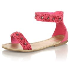 This is one of my favorites on totsy.com: Ladies Flat Sandal