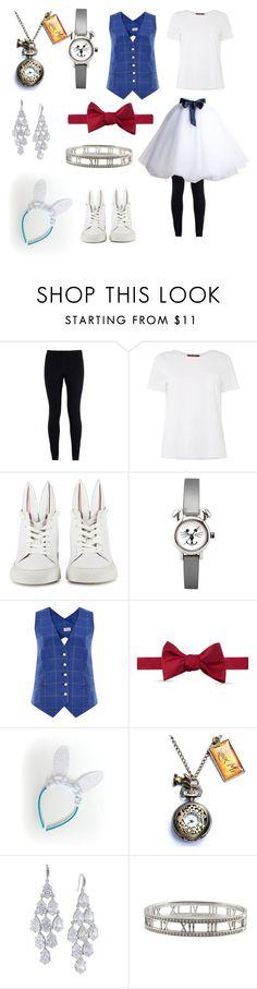 """White rabbit costume"" by maddywesaley ❤ liked on Polyvore featuring NIKE, Monnalisa, MaxMara, Minna Parikka, Temperley London, Izod, Carolee, Tiffany & Co., women's clothing and women"