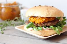 Herbstküche: Wildburger mit Kürbis-Chutney – notyourdarling Venison, Recipes With Pumpkin, Easy Meals