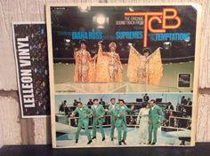 Takin' Care Of Business TCB Soundtrack LP C062-90082 Motown Soul Film Supremes Music:Records:Albums/ LPs:R&B/ Soul:Motown
