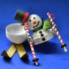 Snowman Trinket  Box