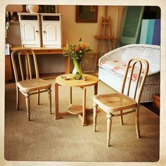 ANOUK offers an eclectic mix of vintage/retro furniture & décor.  Visit us: Instagram: @AnoukFurniture  Facebook: AnoukFurnitureDecor   October 2015 Cape Town, SA. Coffee Table With Chairs, Table And Chairs, Dining Chairs, Decoration, Art Deco, Facebook, Furniture, Instagram, Home Decor