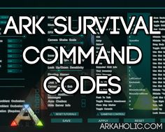 See how to enter and use the various command codes found in ARK Survival Evolved. Command codes can be used to unlock cheats, see the full list here! Ark Survival Game, Ark Survival Evolved Tips, Game Ark, Cheating, Gaming, Building Ideas, Nerd Stuff, Troy, Programming