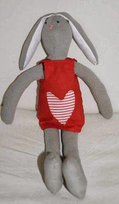 My Tilda bunny