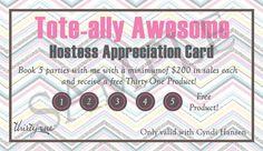 good idea www.mythirtyone.com/heatheryork